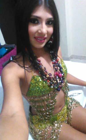 Danseuse égyptienne transexsuelle à Montreuil