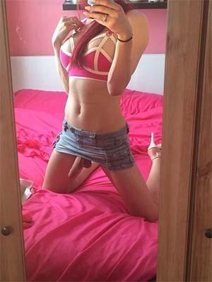 T-Girl donneuse d'orgasmes montée 21 cm