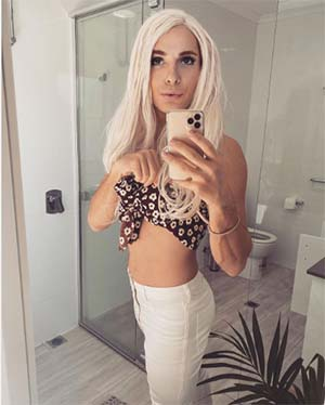Trav blonde maigrichonne de Annecy 74